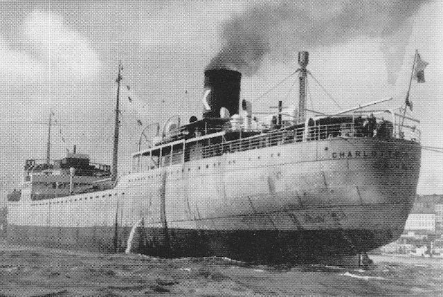 Essberger, le sort des navires marchands allemands en 1939 Charlotte