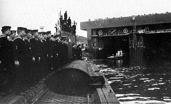 Japanese Submarines That Visited German Occupied Europe
